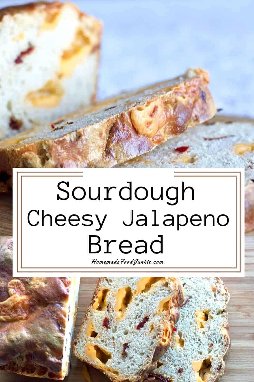Sourdough Jalapeno Cheese Bread-Pin Image