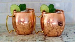 Moscow Mule Vodka Drink