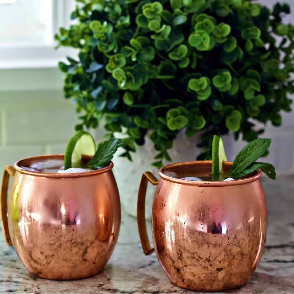 Moscow Mule cocktails