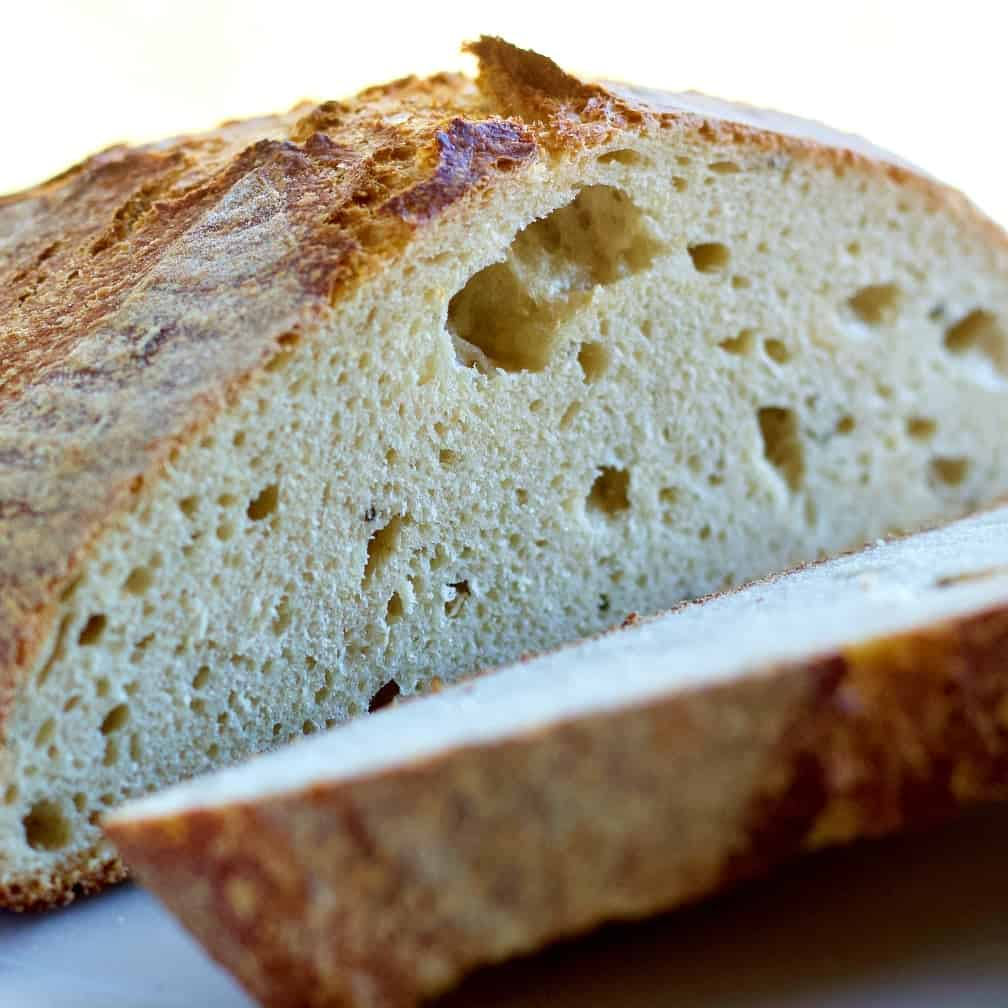 Roasted Garlic Sourdough bread