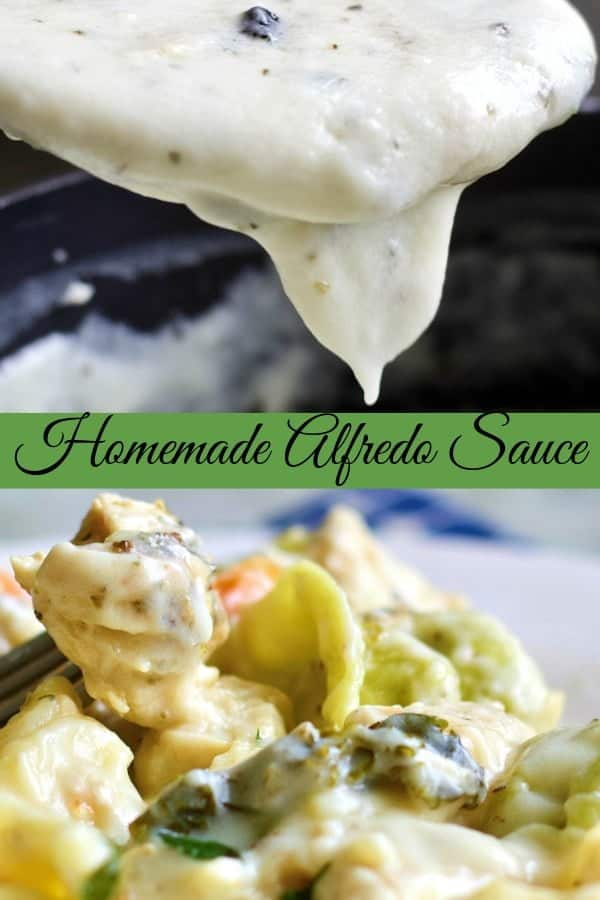 This rich, creamy and flavorful homemade Alfredo sauce provides a huge wow factor for your Italian recipes.