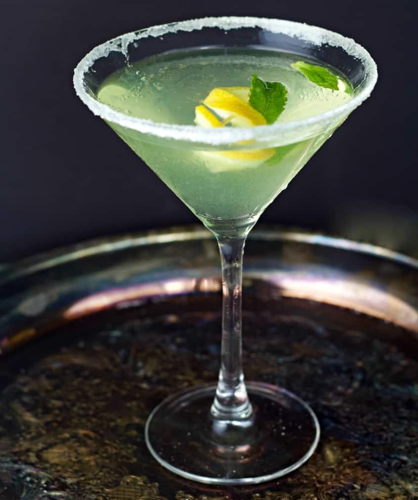Lemon Limoncello Martini 1