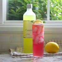 Pink Lemonade vodka cocktail with limoncello