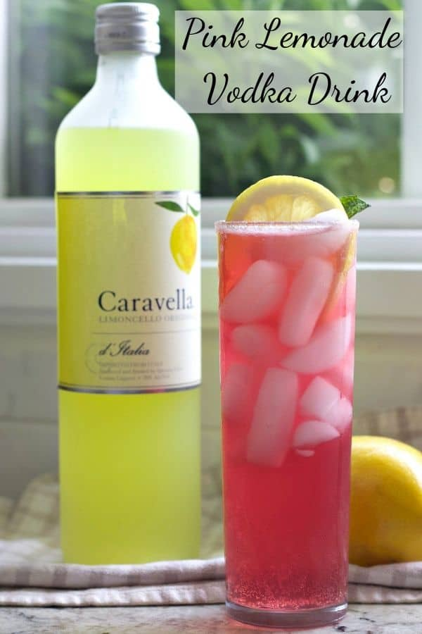 Pink Lemonade Vodka Drink-Pin