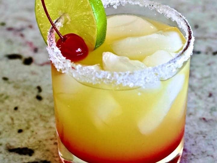 Tequila Sunrise Margarita On The Rocks Homemade Food Junkie,What Is Tahini Salad