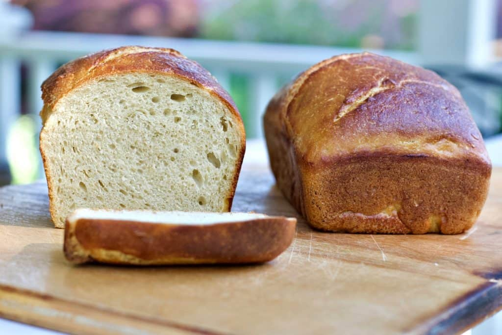 Soft Sourdough Sandwich Loaf