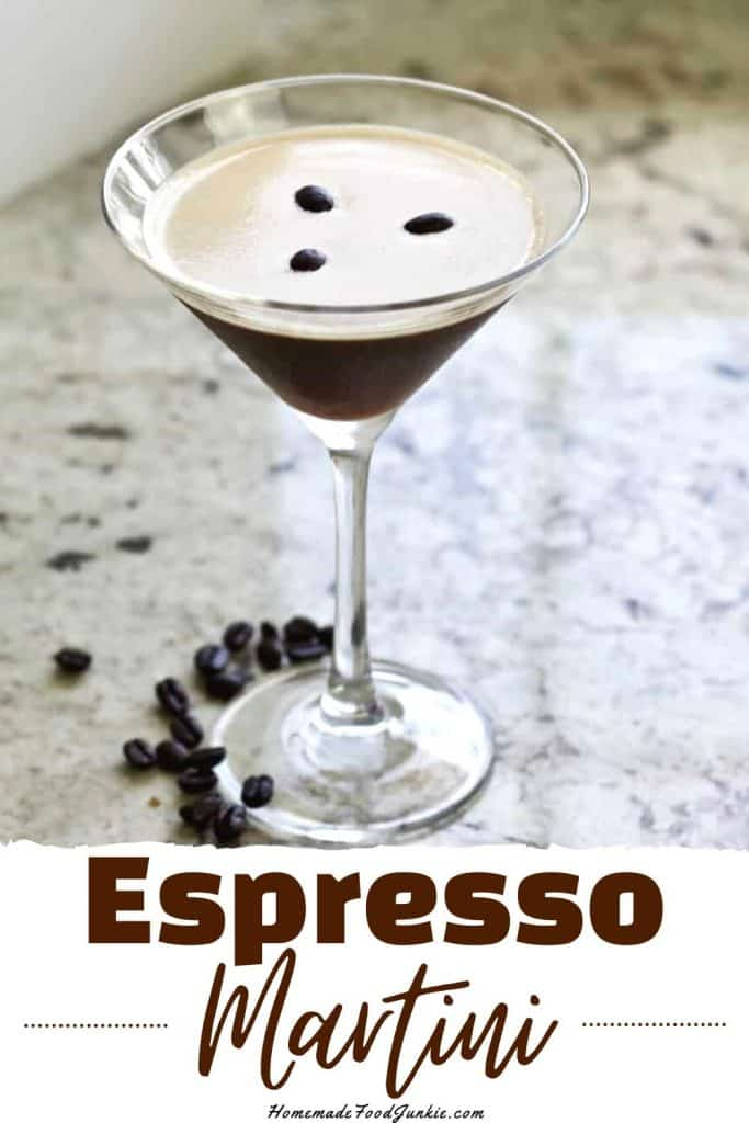 Espresso Martini Kahlua Drink Recipe Homemade Food Junkie