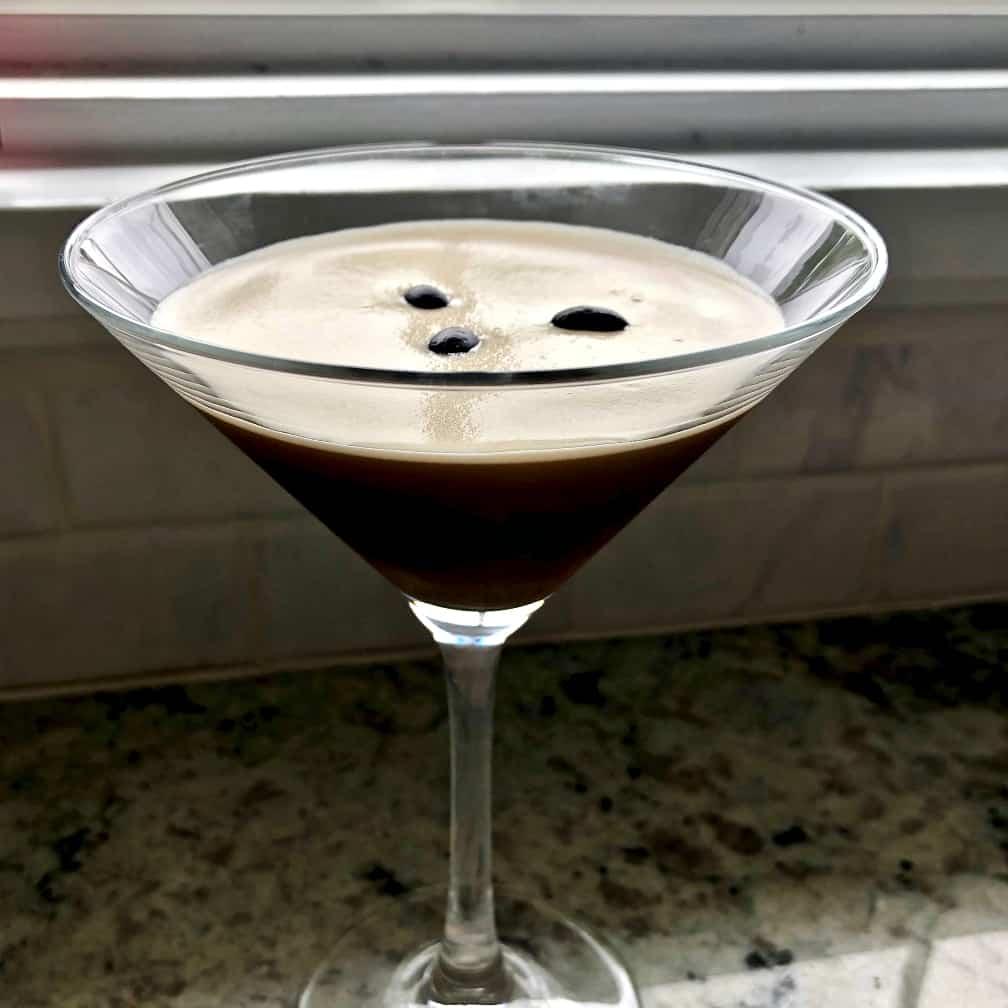 Espresso Martini Made With Cold Brew