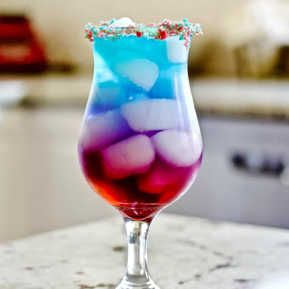 Finished Firecracker Cocktail