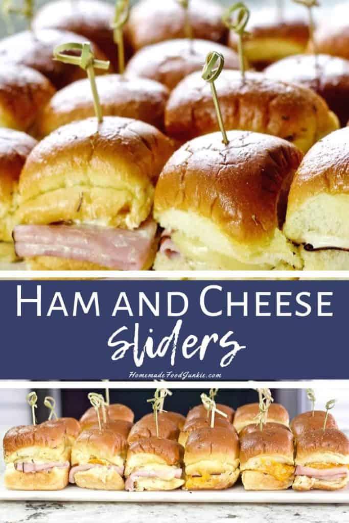 Ham and Cheese Sliders-pin image
