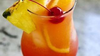 Mai Tai Cocktail with Malibu Rum