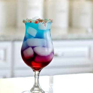 Red White And Berry Firecracker Cocktail