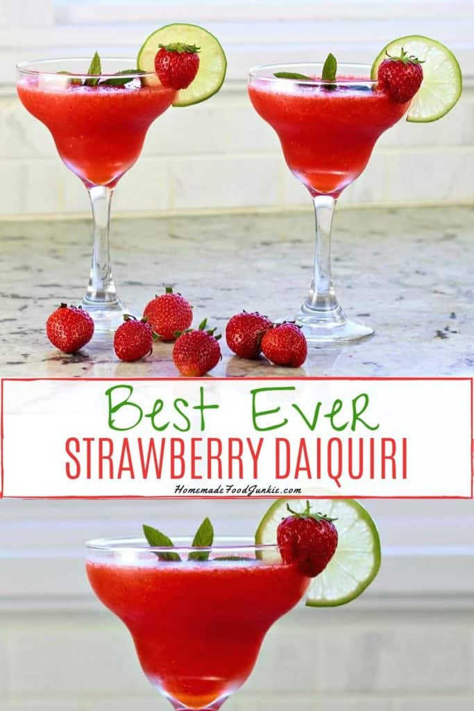 frozen strawberry daiquiri-pin image