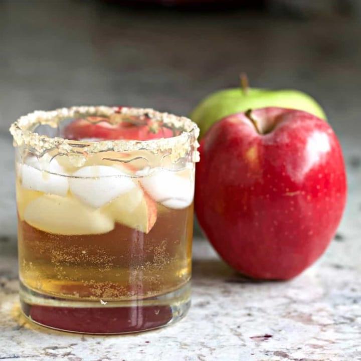 Salted Caramel Apple Whiskey