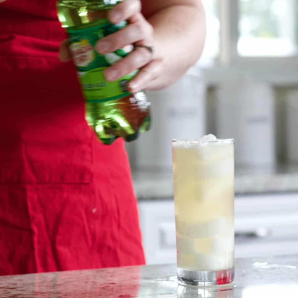 Topping Off With Gingerale