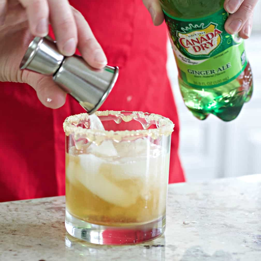 Pouring The Gingerale