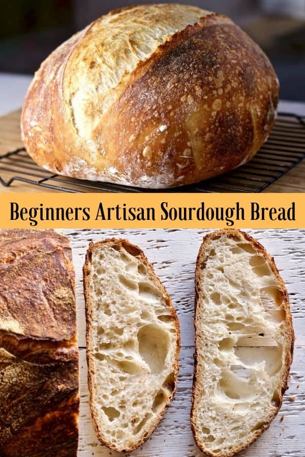 Homemade Sourdough bread is a worthy journey into Artisan bread making. The adventure begins with wild yeast starter and continues into the vast and rich history of naturally fermented bread baking. #sourdoughbread #sourdoughrecipe #sourdoughtutorial #fallbaking #sourdoughbreadrecipe #baking