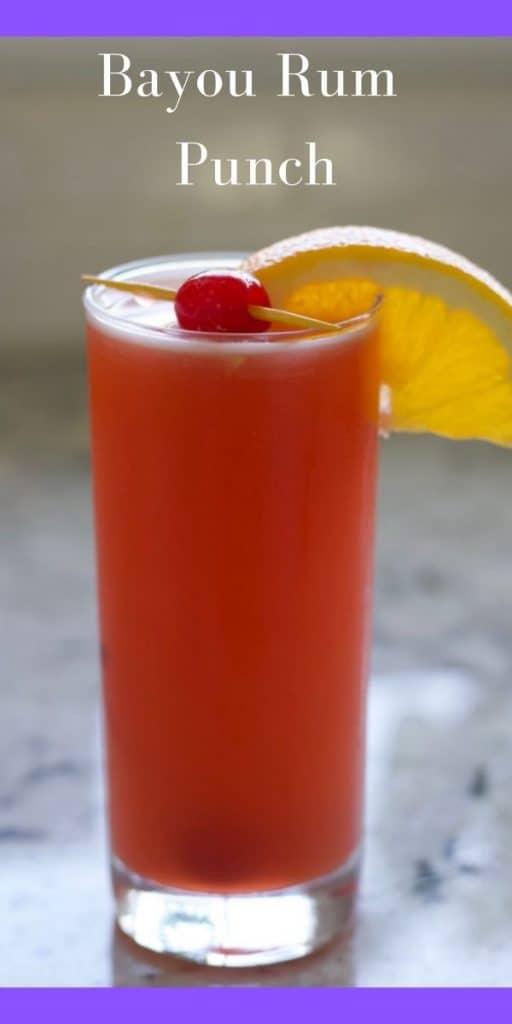 Bayou Rum Punch Pin Image