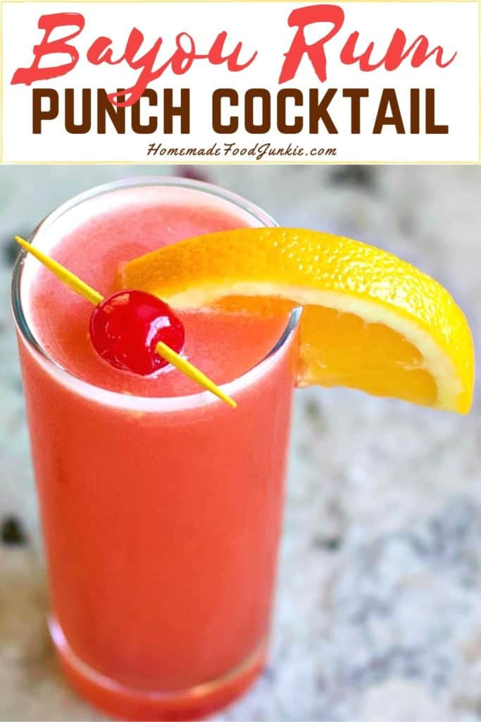 Bayou Rum Punch-pin image
