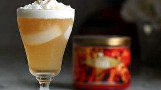 Caramel Vanilla Cream Soda Cocktail