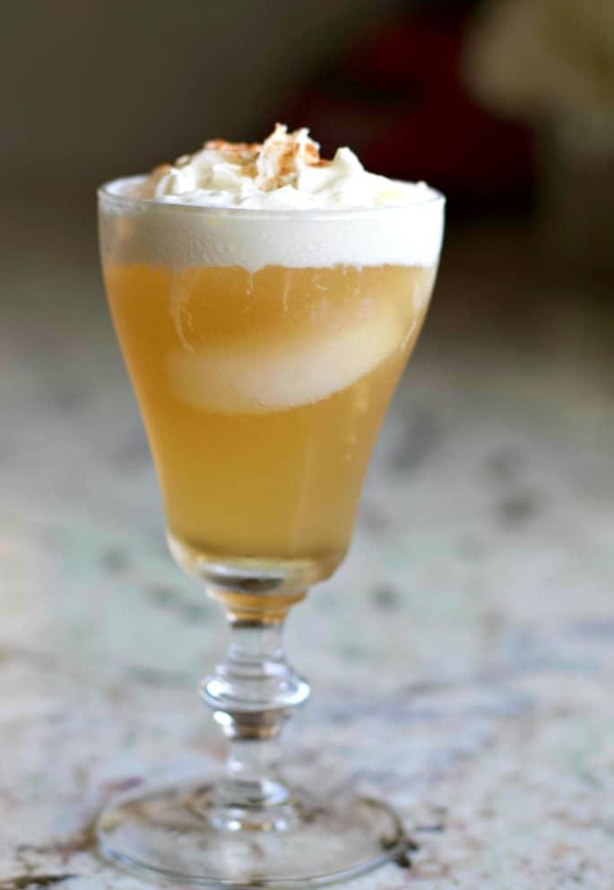 Vanilla Caramel Whiskey Cream Soda