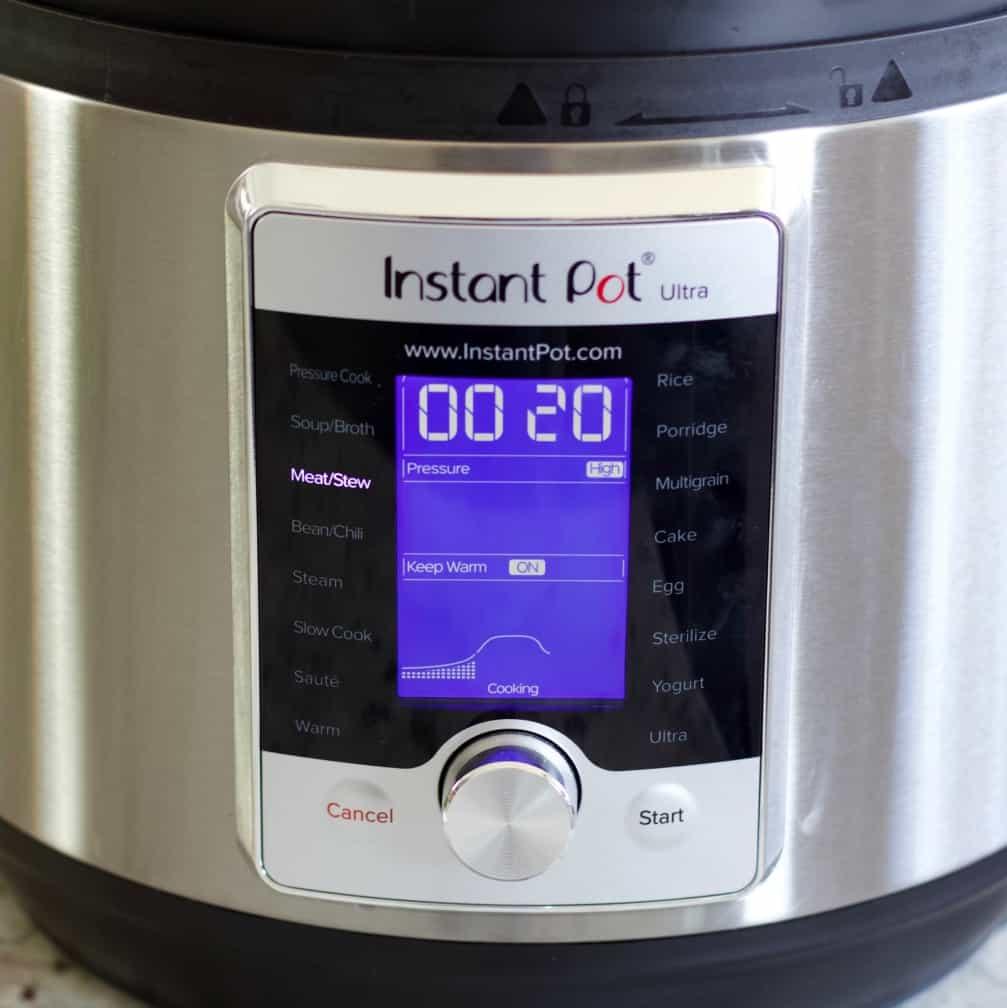 Instant Pot Settings Venison Stew