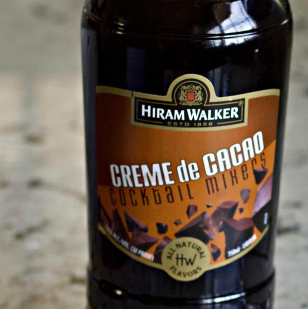 Hiram Walker creme de cacao