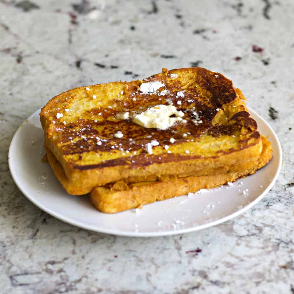 A Stack Of Pumpkin French Toast