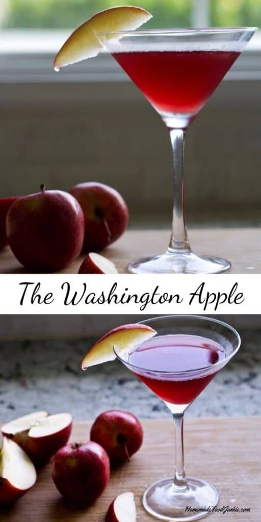 Washington Apple alcoholic drink Pin