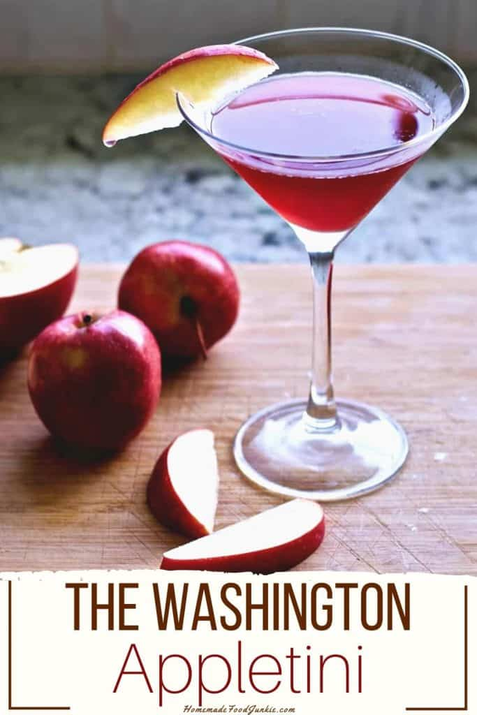 The Washington Appletini-pin image