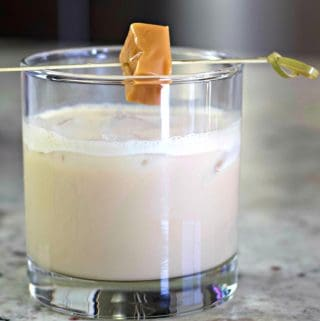 Buttered toffee Irish Cream drink