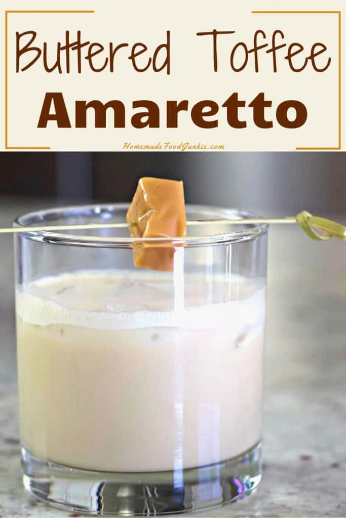 Buttered Toffee Amaretto-pin image