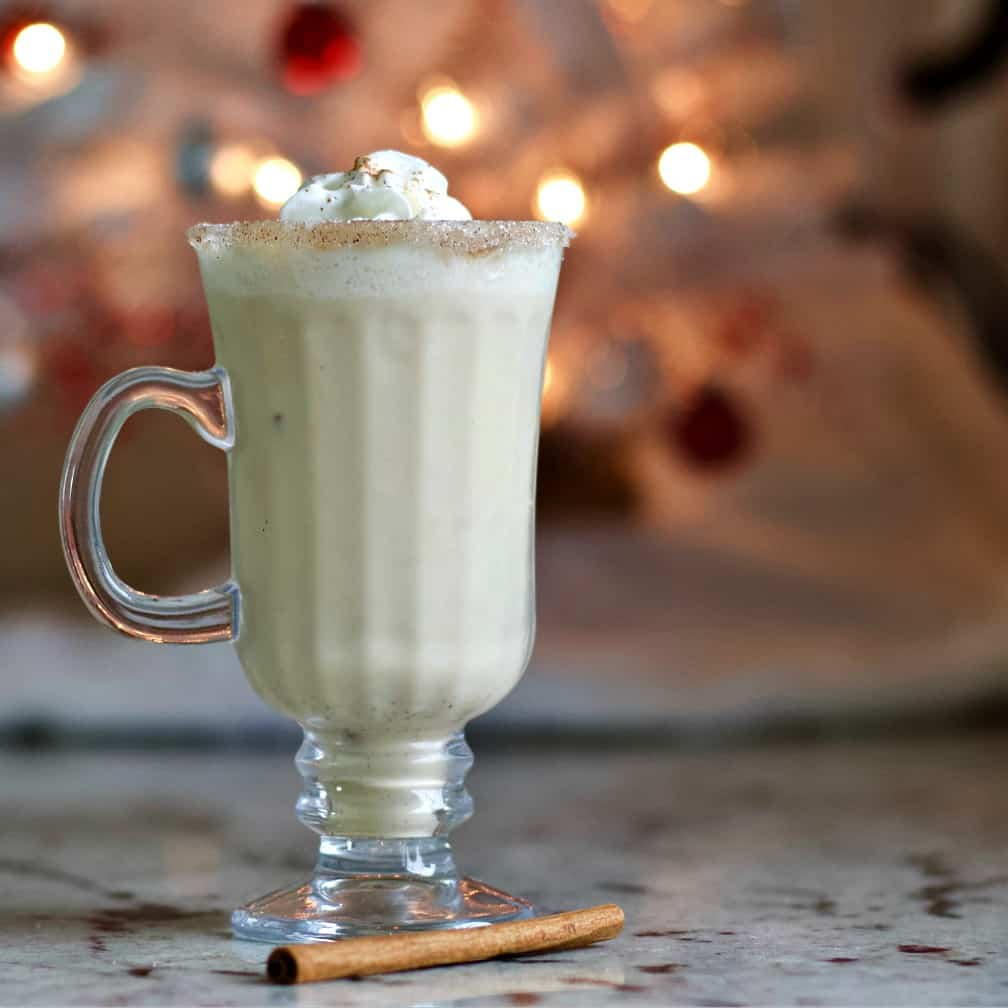 Eggnog Holiday Cocktail