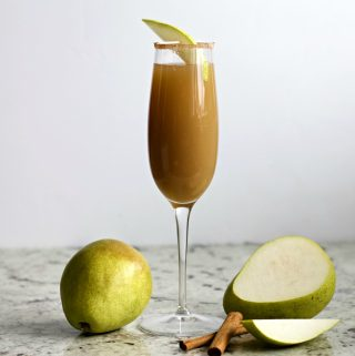 Cinnamon Pear Mimosa Recipe
