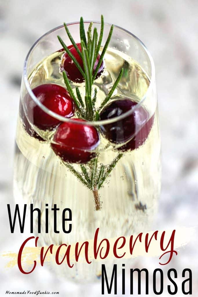 White Cranberry Mimosa-Pin Image