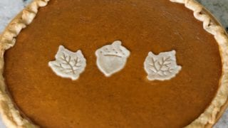 Sweet Potato Pumpkin Pie Recipe