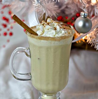 Homemade Eggnog Cocktail