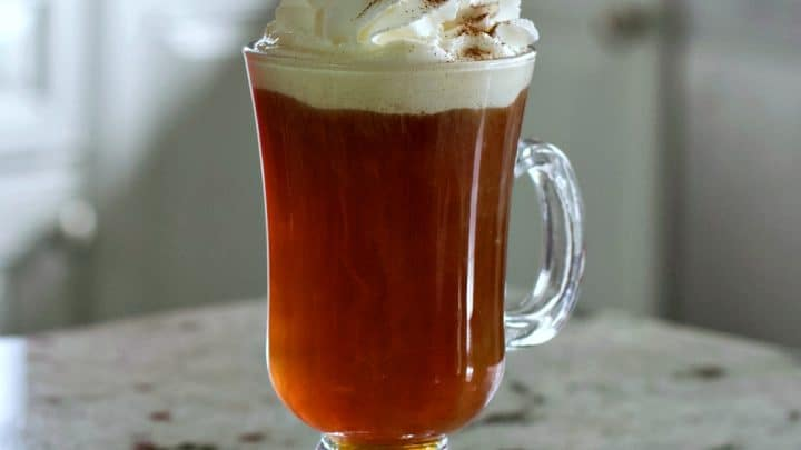 Café Amaretto Alcoholic Coffee Drink