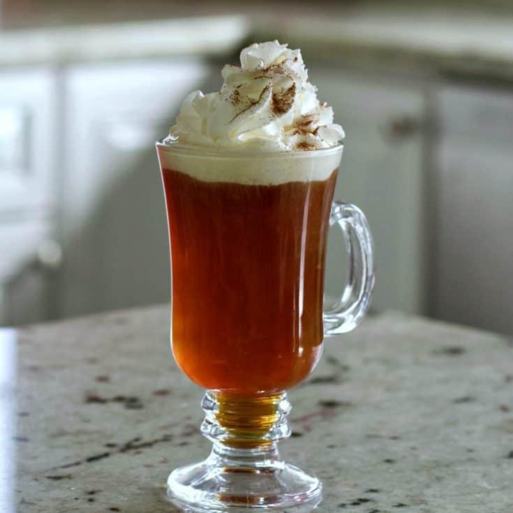 Amaretto Brandy Coffee Drink