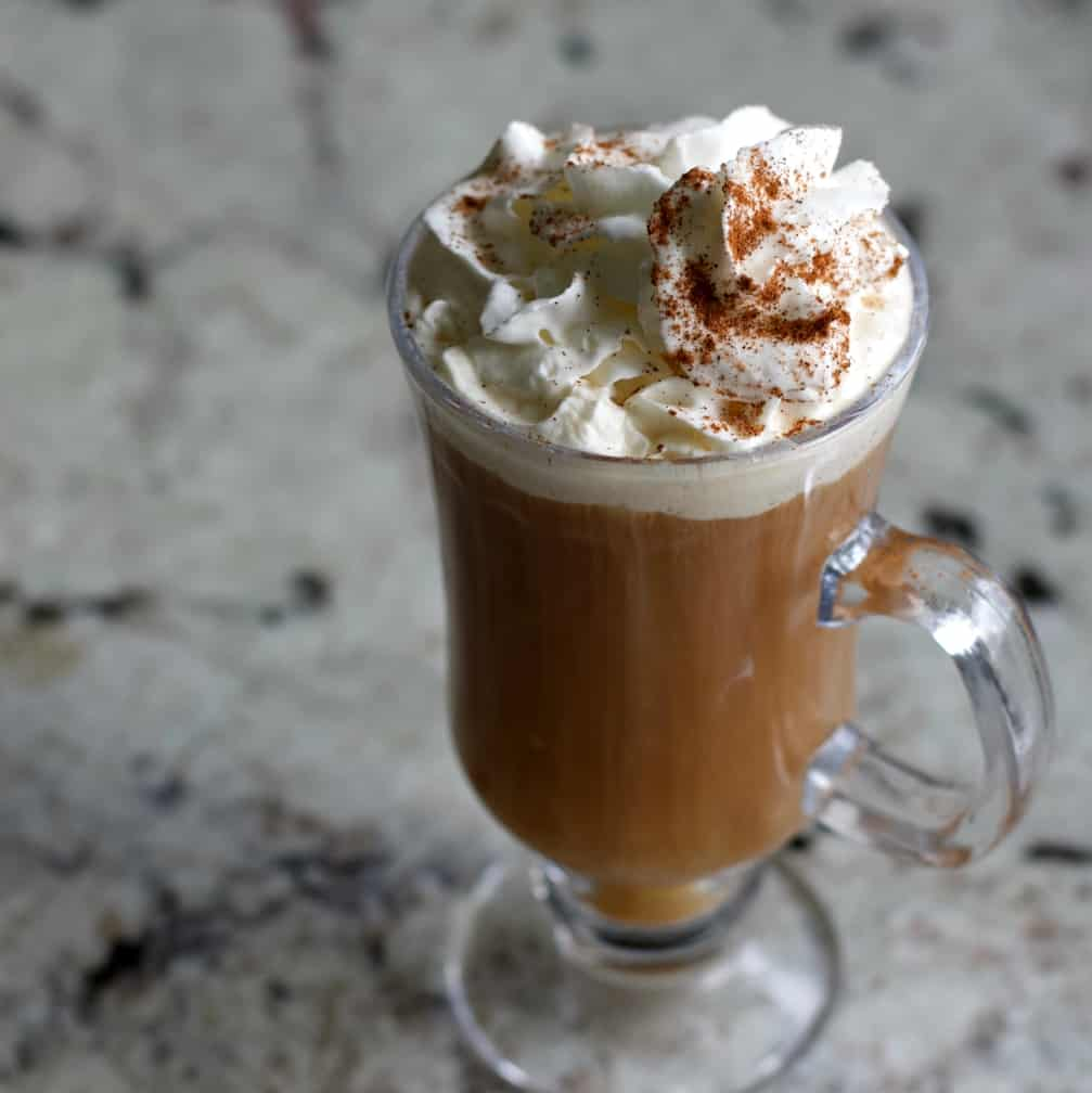 Cafe Amaretto Alcoholic Coffee Drink