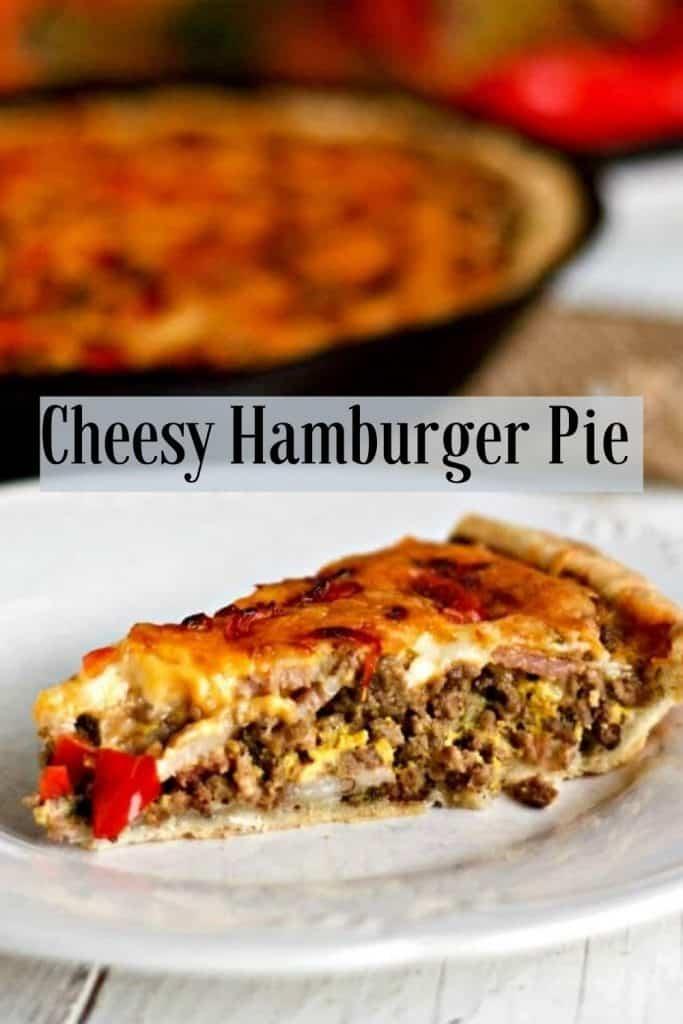 Cheesy Hamburger Pie-PIN IMAGE