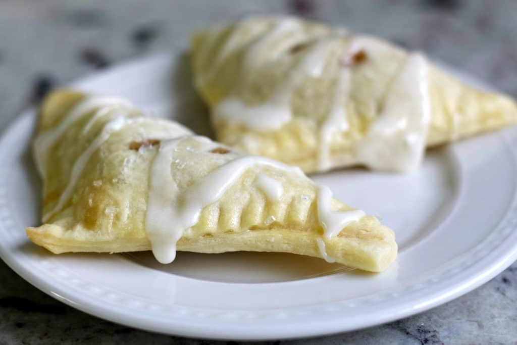 glazed apple turnovers