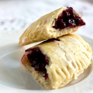 Blackberry hand pie recipe