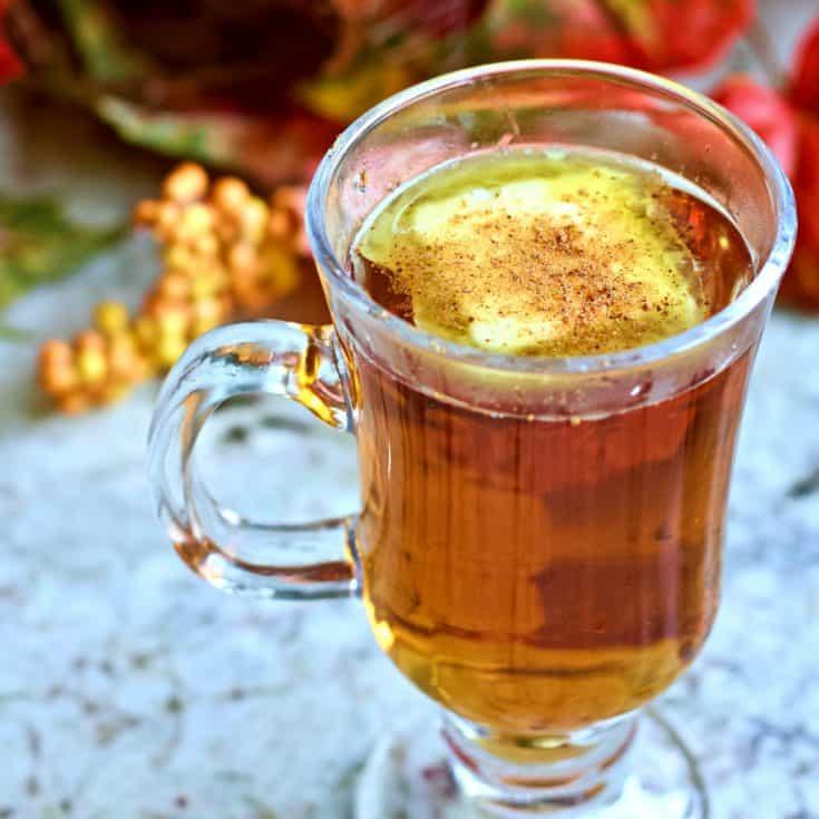 Hot Buttered Rum W Nutmeg