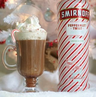 Peppermint Twist Hot Chocolate Stinger