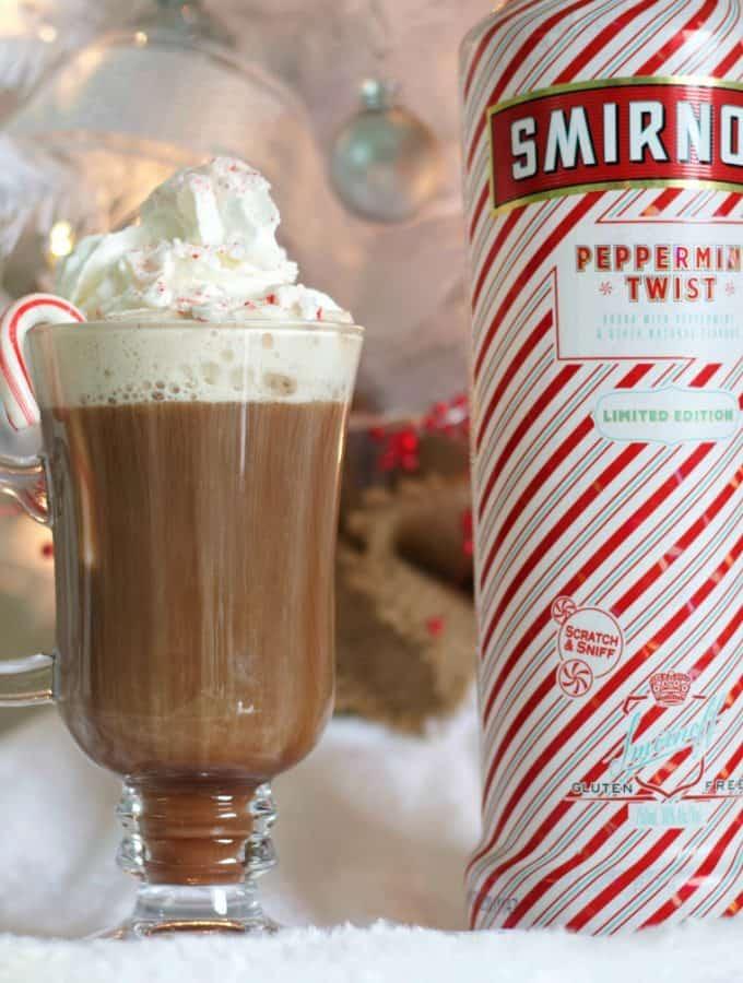 Peppermint Twist Hot Chocolate Stinger