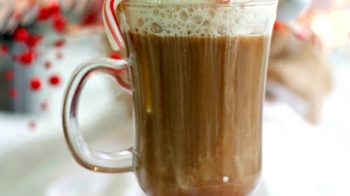 Peppermint Hot Chocolate Stinger
