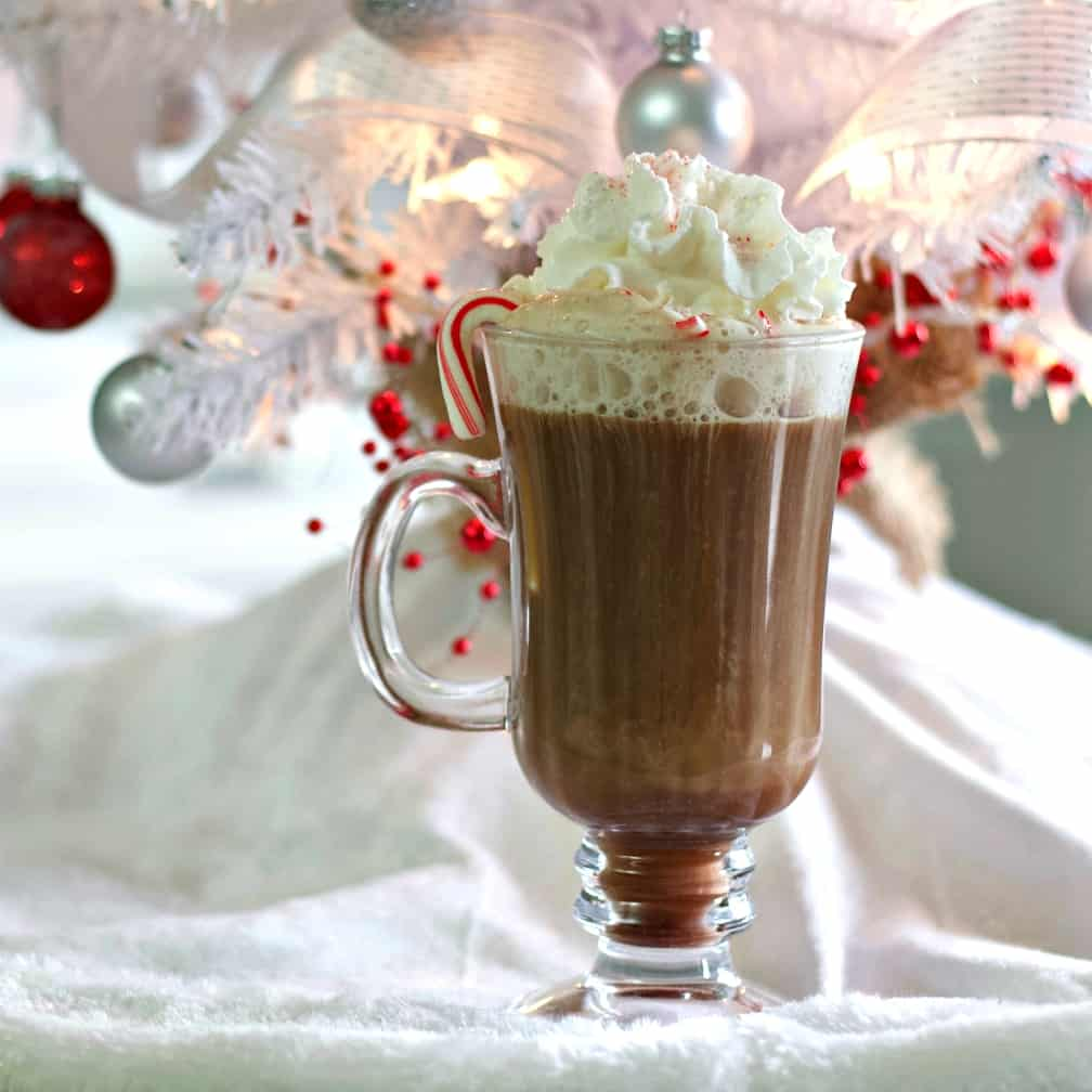 Peppermint Twist Hot Chocolate