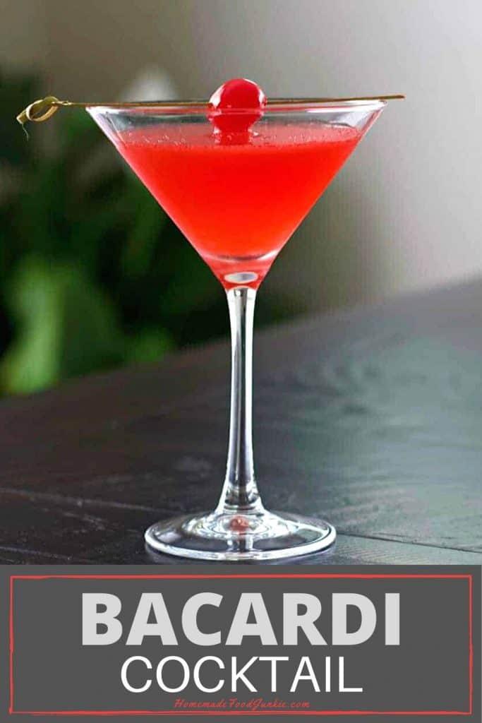 Bacardi Cocktail-Pin Image