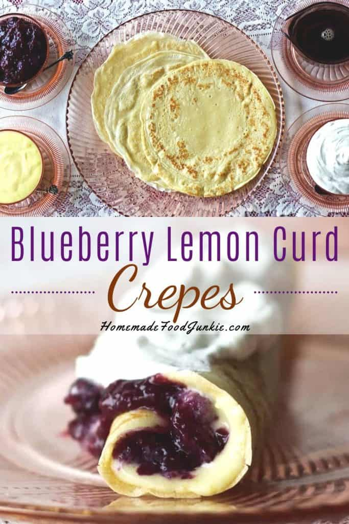 Blueberry Lemon Curd Crepes-pin image